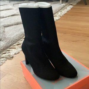 SAM EDELMAN — Circus sock heel boot